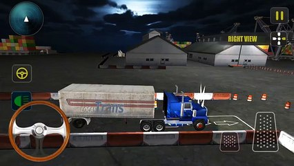 Night Truck Parking Driver 3D - Android GamePlay FHD
