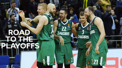 Road to the Playoffs: Zalgiris Kaunas