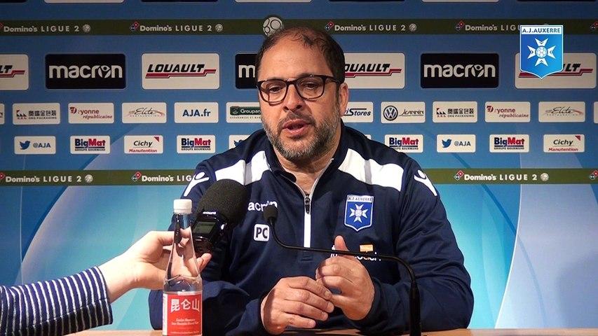 Conférence de presse de Pablo Correa avant AJA - Clermont