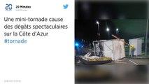 Alpes-Maritimes. Une mini-tornade cause des dégâts spectaculaires à Villeneuve-Loubet.