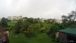 Time-Lapse - Ouragan Maria en Martinique