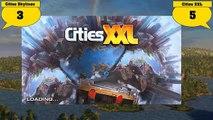 Cities Skylines VS Cities XXL - Comparaison des deux jeux.