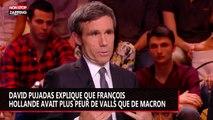 François Hollande plus effrayé par Valls que par Macron ? David Pujadas balance (vidéo)