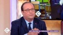 """François Hollande a été """"presque amusé"""" devant le 13h de Macron"""