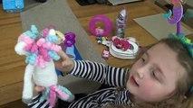 Happy Birthday Song! Avas 8th Birthday, Presents & Cake with Isla and Olivia