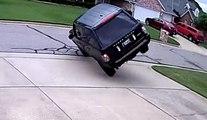 Volcar un Range Rover en un segundo