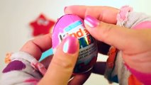 Surprise Eggs play doh Kinder Surprise Shopkins Paw Patrol and learn to make Pla