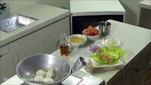 Deep fried fish in stewed tomato sauce Miniature Food Cooking Filipino Food (ASMR) (mini food)