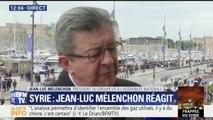 """Jean-Luc Mélenchon juge la frappe aérienne en Syrie """"dangereuse"""", """"irresponsable"""" et impropre à """"régler aucun problème"""""""