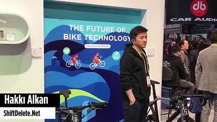 LeEco akıllı bisiklet - CES 2017 - Bilgisayar gibi bisiklet!