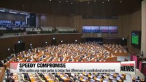 Minor parties demand major parties to settle their differences on constitutional revision