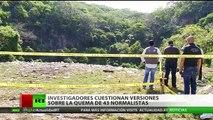 Investigadores cuestionan que los 43 estudiantes desaparecidos en México fueran quemados