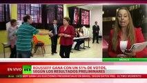 Dilma Rousseff, presidenta reelecta de Brasil