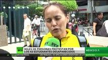 México: Miles de personas protestan por los 43 estudiantes desaparecidos