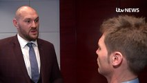 Tyson Fury WALKS OUT of interview with ITV News