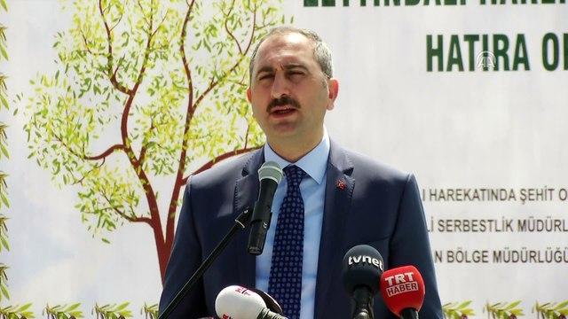 Bakan Gül: 'Denetimli serbestlik, ceza infaz sistemimizin en yenilikçi uygulamaları arasındadır' - ANKARA