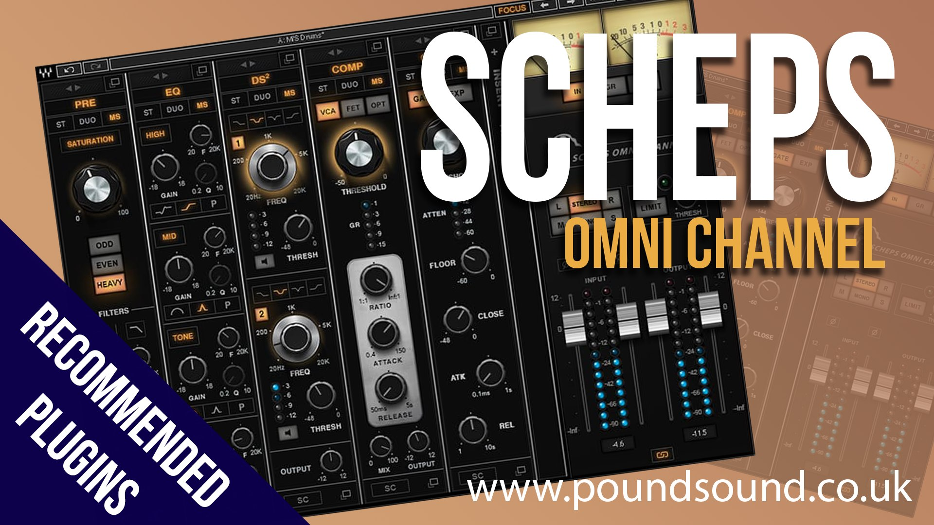 Recommended Plugins: Waves Scheps Omni Channel (Overview & First  Impressions)