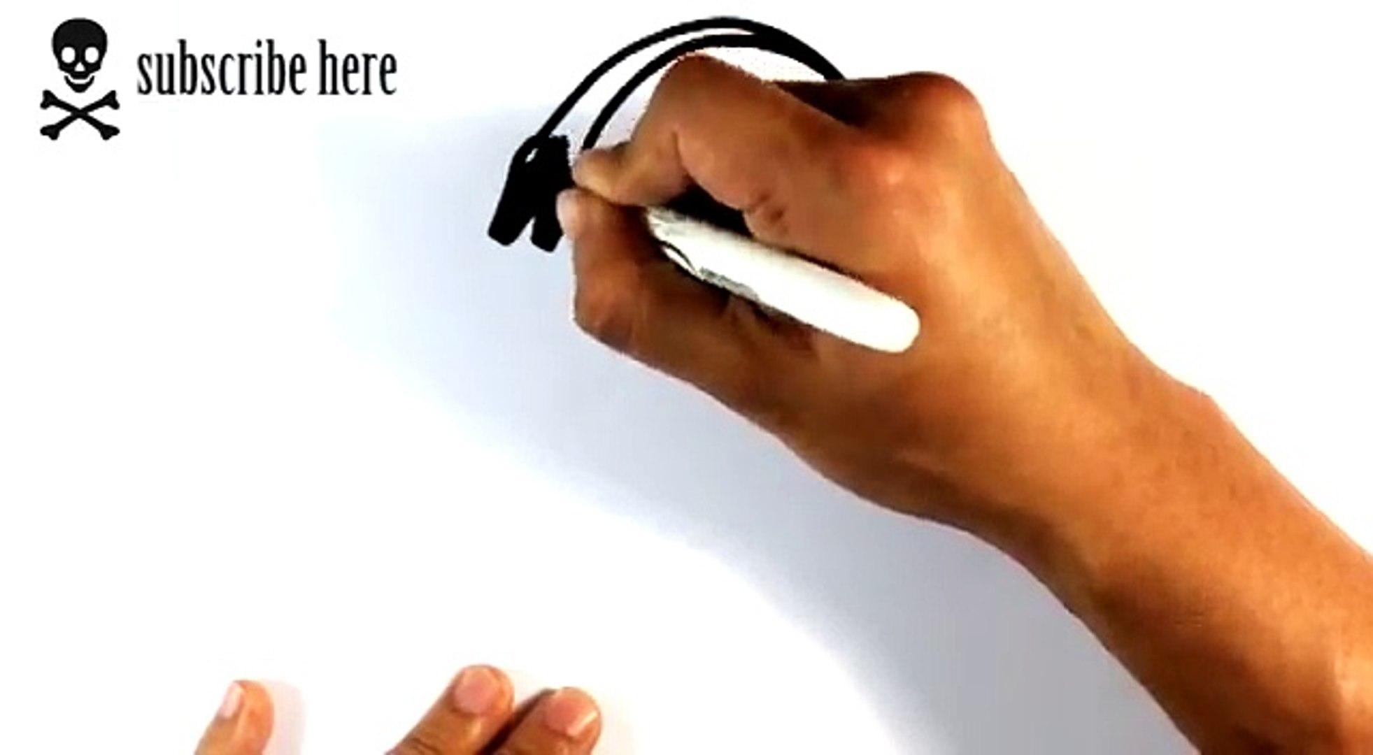 How to Draw a Tribal Tattoo Snake - Draw Tattoo