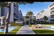 Ground apartment 166 meter with garden for sale in El Patio ORO Compound