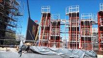 Le chantier du nouveau  théâtre du Maillon à Strasbourg