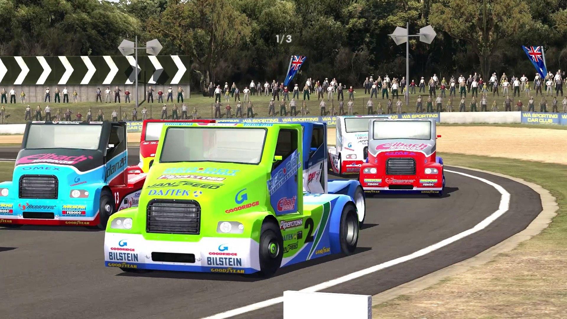 Strana Super Truck - Barbagallo Raceway (ToCA Race Driver 3)