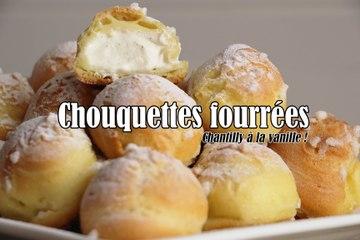 #LGDK : Chouquettes fourrées