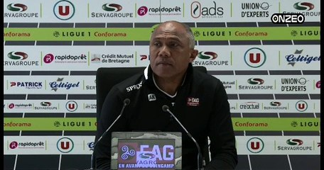 POINT PRESSE (EAG) : AVANT LILLE - GUINGAMP