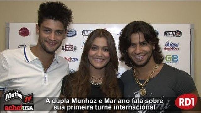 Entrevista - Munhoz e Mariano Show na Flórida, EUA - USA Tour - Turnê Internacional