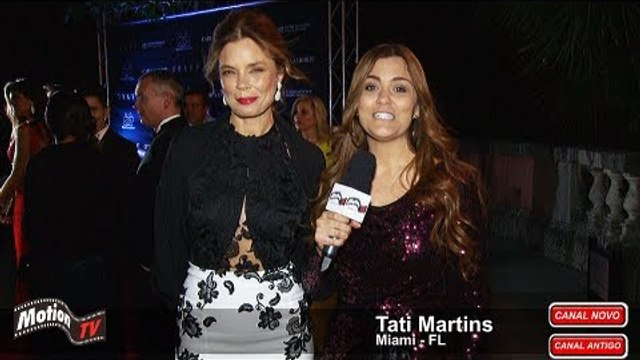 A atriz Alexia Dechamps fala de sua volta à TV e ao Teatro no II Gala Miami da BrazilFoundation