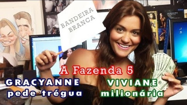 """A Fazenda 5 deixa Viviane Araujo milionária e em """"paz"""" com Gracyanne Barbosa"""