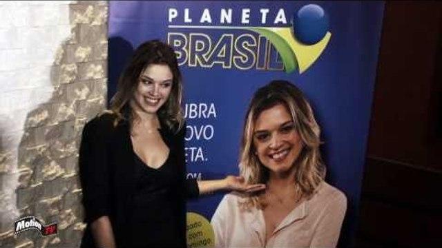 Natalia Bruscky é a nova apresentadora do Planeta Brasil (2014). Confira a Entrevista