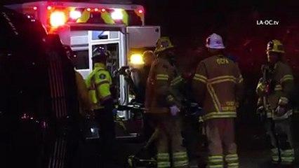 Will Ferrell Car smash upturned SUV
