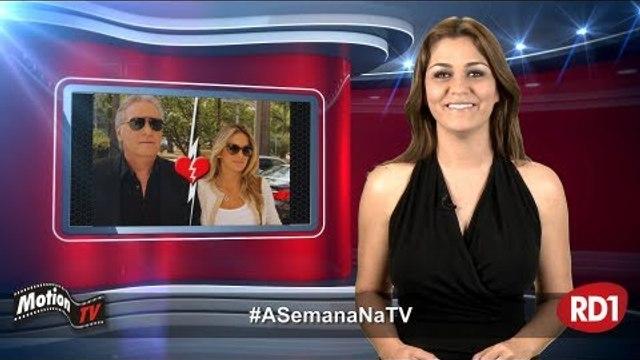 #ASemanaNaTV: Roberto Justus e Ticiane Pinheiro se separam; Geraldo Luís ataca Luana Piovani