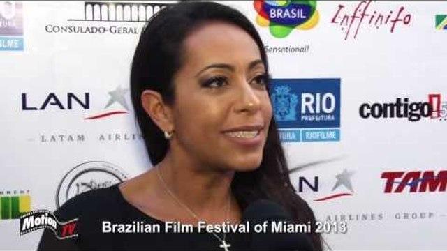 """Samantha Schmütz -""""Minha Mãe é Uma Peça"""" no Brazilian Film Festival of Miami 2013 - Entrevista"""