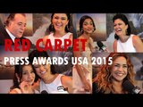 RED CARPET: Tony Ramos, Daniela Mercury, Lucy Alves, Mila Burns | PRESS AWARDS 2015 entrevistas