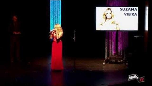 Susana Vieira chora ao ser homenageada nos EUA - Press Awards 2014