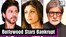 Bollywood Stars Who Lost All Their Money Due To Films | Shah Rukh Khan, Shilpa Shetty