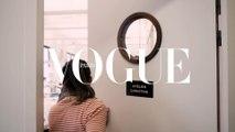 L'histoire d'un look Chanel, du croquis de Karl à la couverture de Vogue Paris