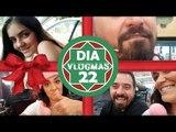VlogMas Dia22: NATAL NO WALMART AMERICANO + BASTIDORES DO AO VIVO + SEMANA SEM MAQUIAGEM EM 2017