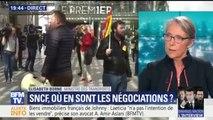 """SNCF: """"Nous sommes déterminés à mener l'ouverture à la concurrence jusqu'au bout"""", promet Elisabeth Borne"""