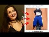 EMILLY, do BBB17, vira BONECO JUDAS no SÁBADO de ALELUIA