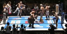 NJPW - Road to Wrestling Dontaku | Team Tanahashi (Hiroshi Tanahashi, KUSHIDA, Juice Robinson, David Finlay & Michael Elgin)  Vs CHAOS (Kazuchika Okada, Jay White, Will Ospreay, Hirooki Goto & YOSHI-HASHI)