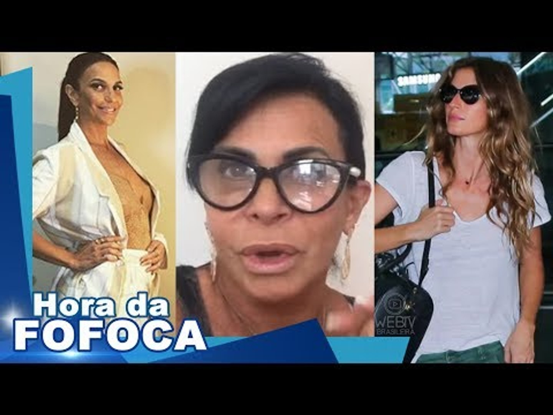 IVETE SANGALO terá 2 MENINAS; GRETCHEN DETONA INTERNAUTA em VÍDEO; GISELE abrirá o ROCK IN RIO