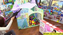 Kids Toy Guns Playtime Fun! AK-47 and M16 Rifles Unboxing and Playtime + RC Tank Super Sherman Run