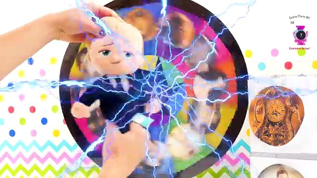 Beauty & The Beast Movie and Boss Baby Spin the Wheel Game! Belle, Beast & Lumiere Learn Colors Fun!