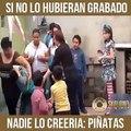 Un poco de humor con piñatas -Síguenos... - Skalona Music Group