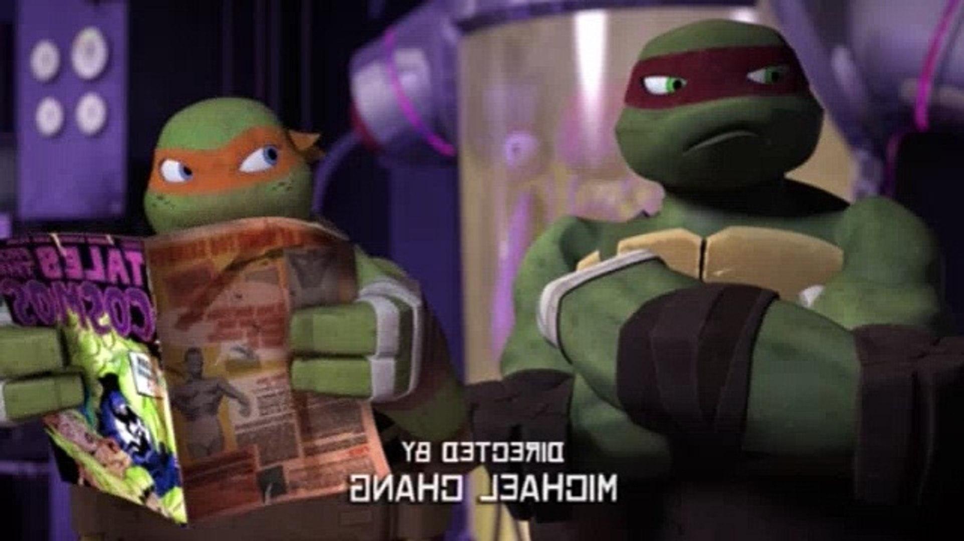 Teenage Mutant Ninja Turtles S02e02 Invasion Of The Squirrelanoids Video Dailymotion