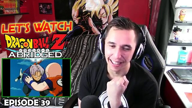 HE PUSHED THE GOKU BUTTON!!| LETS WATCH DBZ Abridged Episode 39 REACTION!!