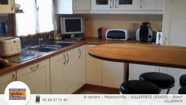 A vendre - Maison/villa - VILLEPINTE (93420) - 80m²