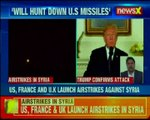 Donald Trump orders airstrikes on Syria, Britain and France join United States in coordinated attack